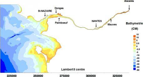 Emprise géographique du modèle