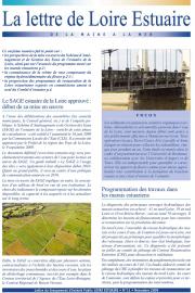 La connaissance de la crème de vase composante du régime hydrosédimentaire du fleuve (dossier Lettre 11, novembre 2009 - format PDF)