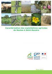 Caractérisation des exploitations agricoles de Nantes à Saint-Nazaire, 2013